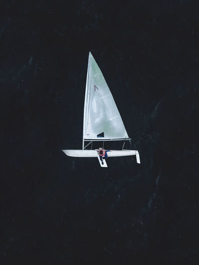 Adventure Boat Flying Laser Mode Of Transportation Outdoors Sailboat Sailing Sea Sport Transportation Water