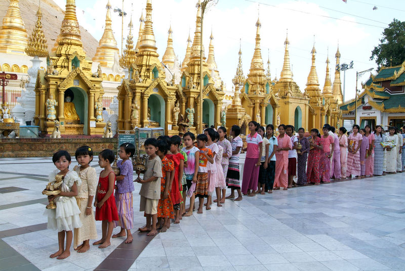 Pagoda Yangon Adult Adults Only Architecture Building Exterior Built Structure Burma Day Large Group Of People Men Myanmar Outdoors People Place Of Worship Real People Religion Shwedagon Sky Spirituality Togetherness Traditional Clothing Travel Destinations Women Young Adult