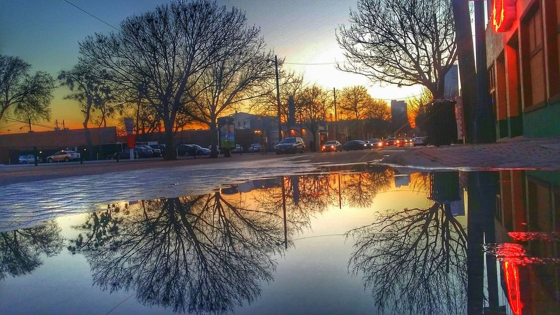 Deepellum Reflection Sunset Photography I Love Taking Pictures Dallas Texas