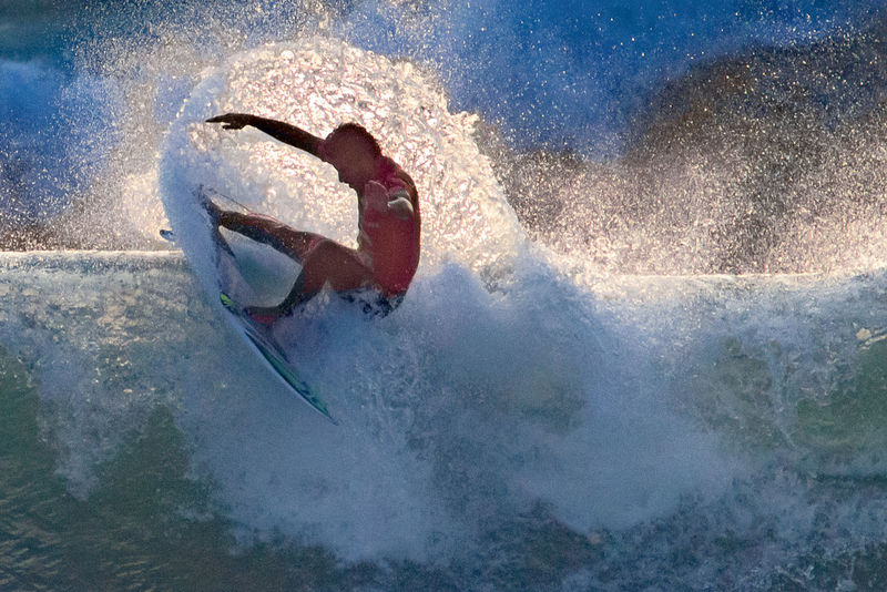 2015 Men's Samsung Galaxy Championship Tour Atlantic Ocean Balance Champions Extreme Sports Famous Filipe Toledo Final Moche Rip Curl Pro Surfing Ocean Power In Nature Splashing Stunts Sunset Surfing Vibrant Wave Wet World Championship Surfing World Surf League Wsl Surf's Up Blue Wave