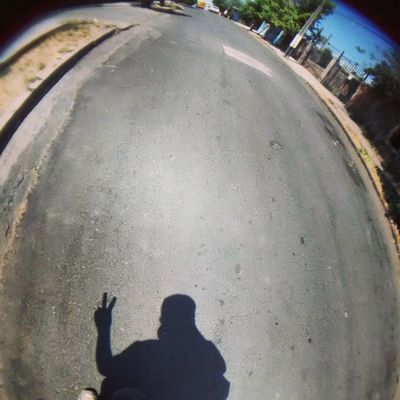 Camino a casa!! BacktoHouse , Fisheye , Shadow