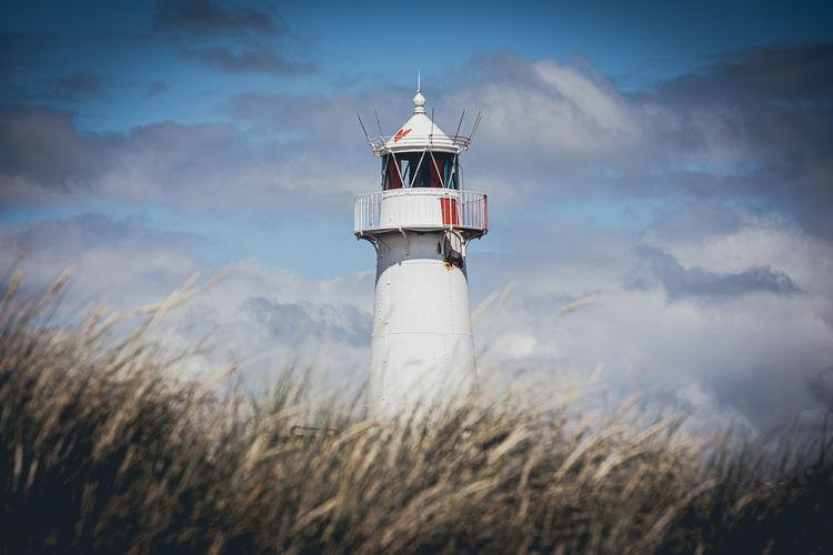 Lighthouse at the beach.