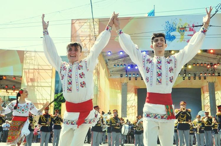 National Dance Hora Republic Of Moldova Independence Day