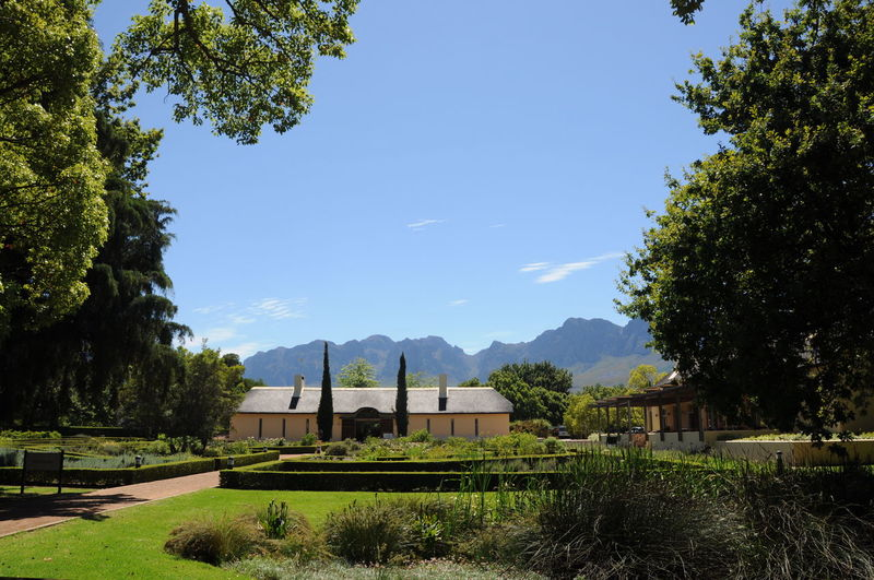 Architecture Beauty In Nature Blue Day Helderberg Estate Mountain Mountain Range Nature No People Outdoors Scenics Science Sky Somerset West Sunlight Travel Destinations Tree