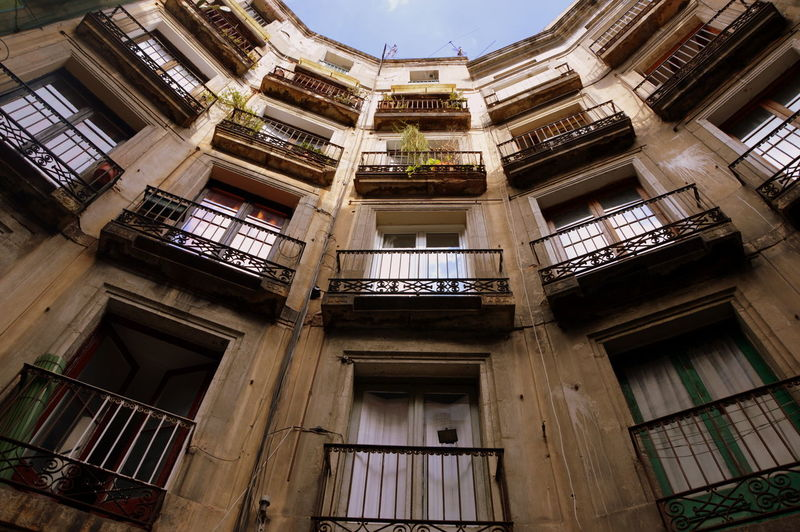 Barcelona SPAIN Architecture Building Exterior Built Structure Day Eye Em Travel Houses And Windows Low Angle View No People Olefingirl Outdoors