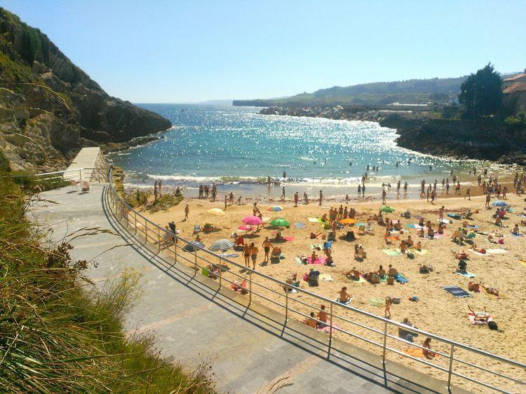 Llanes Playa Sablon Verano Summer Beach Sol Sunny