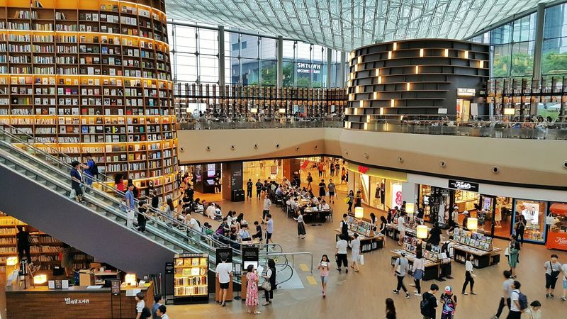 Library architecture Indoors  Lifestyles Books Coex Open Library EyeEmNewHere EyeEm Selects Breathing Space The Week On EyeEm