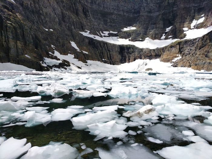 Climate Climate Change Environment Conservation Snow Cold Temperature Mountain Water Lake Frozen Frozen Lake Ice Glacial Glacier Iceberg - Ice Formation Cold Iceberg