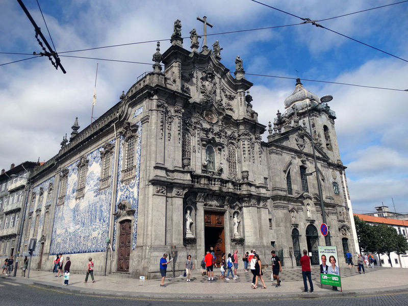 Igreja do Carmo. Group Of People Architecture Sky Built Structure Building Exterior Crowd Large Group Of People Real People Cloud - Sky City Women Men Walking Nature Building Adult Day Street Lifestyles Outdoors Church Arquitecture Arquitectura Nature Nature_collection