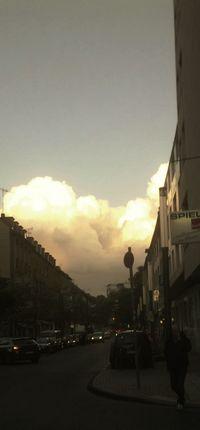 Clouds Sunrise Skyporn Skyline