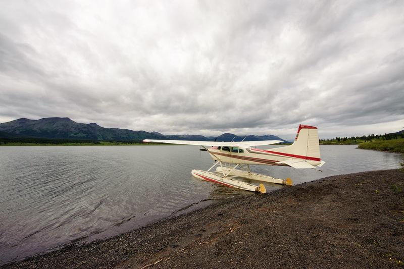 Floatplane on Tuaton Lake in Spatsizi plateau wilderness park Adventure Airplane British Columbia Canada Floatplane Lake Nature Outdoors River Scenics Sky Spatsizi Plateau Wilderness Park Stikine River Tuaton Lake Wild Wilderness