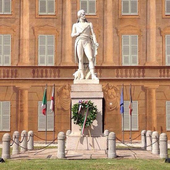 Statue of Napoleon, Marengo Museum, Spinetta Marengo. Italy. Napoleon Marengo Statue France Italy Sculpture Palace Museum