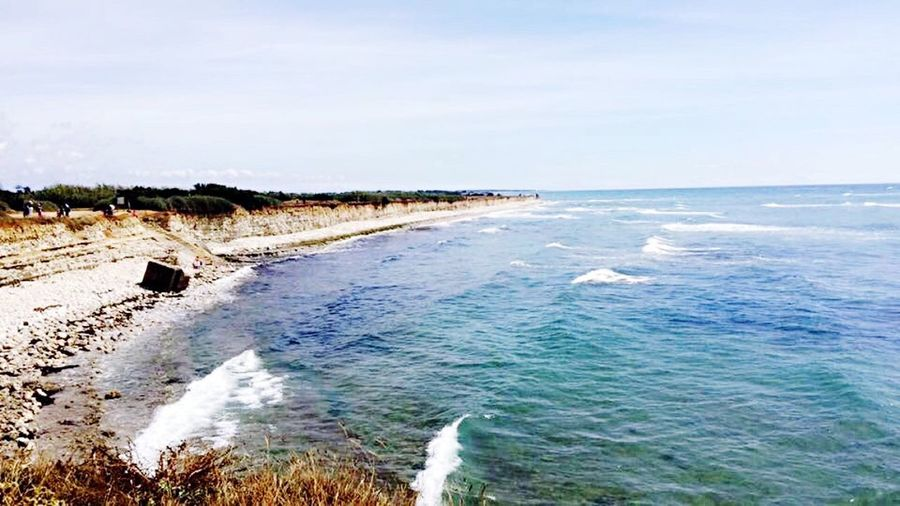 Beach Nature Beauty In Nature Ocean