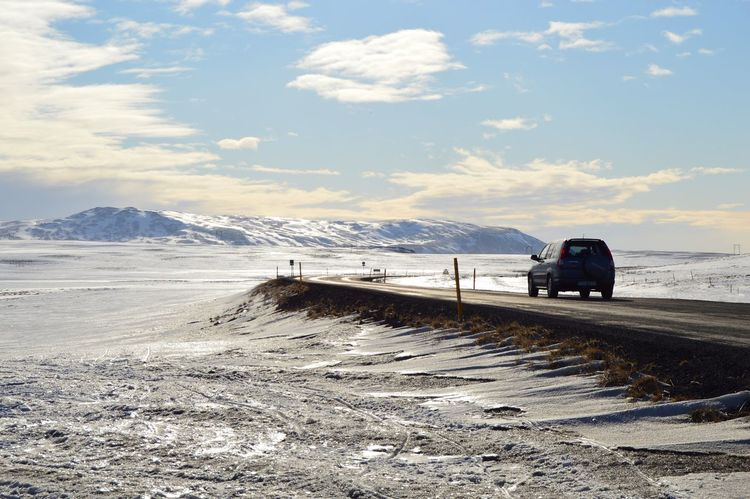 Iceland Travel Photography Ontheroad Road Roadtrip Icy Mountains Going The Distance Cars Nikon D3200
