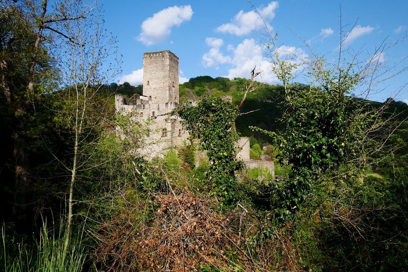 Château de Belcastel - Cloud - Sky Sky Tree Outdoors Architecture Nature Plant Growth Nature Green Color Nature Photography Beauty In Nature Architecture Built Structure History Travel Destinations Architecture_collection Occitanie Old Architecture Aveyron Ancient Old Castle Castle