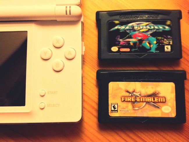 Which one to choose? So many games, so little time. GBA