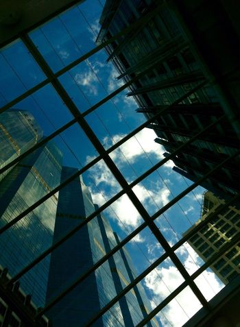 Look Through The Roof Look Up The Sky Sky And Clouds Architecture Office Building