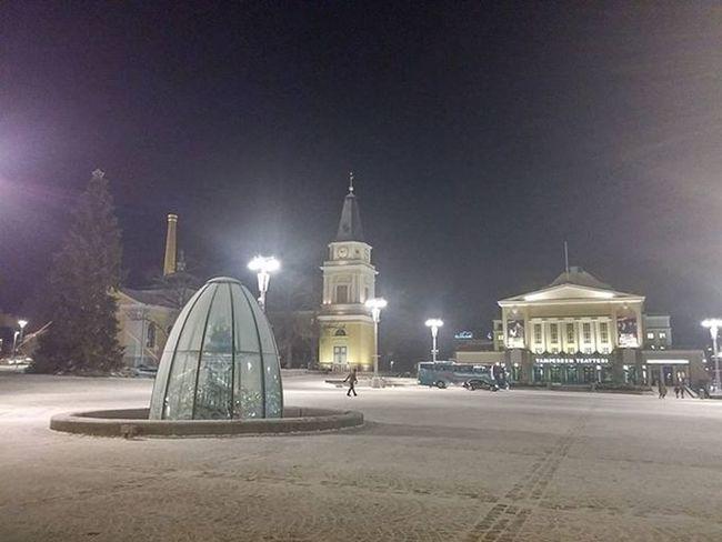 Keskustori Ilta Evening Tampere Tampereallbright Tamperelove Igerstampere Ig_finland Finland Suomi Winter Talvi