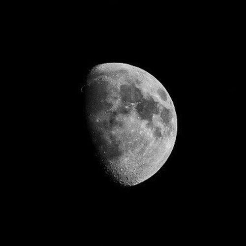 Black And White Friday Moon Night Astronomy Moon Surface Planetary Moon Beauty In Nature Nature Idyllic Space Exploration Half Moon Scenics Tranquility Discovery Space Sky Outdoors Tranquil Scene Exploration Low Angle View Clear Sky