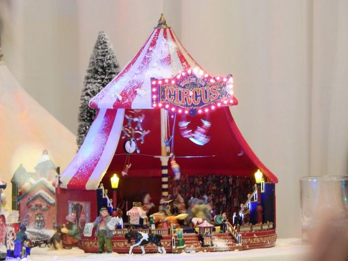 Circus ChistmasOrnament Chistmas Lights Chistmas Large Group Of People Celebration Real People Christmas Christmas Decoration Women Men