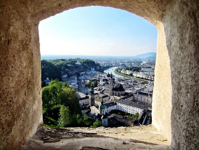 Looking To The Other Side of Salzburg