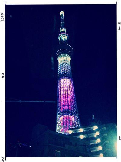 Night tree of Tokyo.