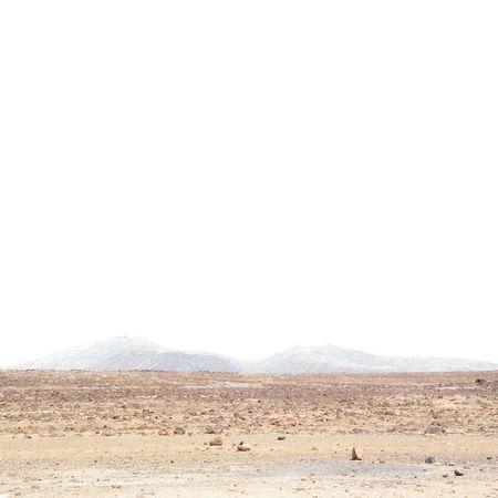 Desert plains. Minimalism Deserted Sand Martian  Whitespace Whitesky