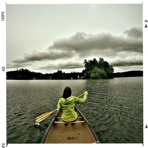 Canoeing GoPro Hero3+ Nature Adirondacks