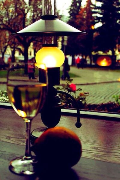 Riga city vine glass romantic Focus On Foreground Drink Close-up No People Outdoors Tree Freshness Nature Day Martini Glass