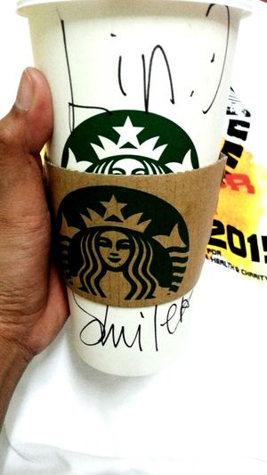 spelled my name wrongly that day, neverthelessStarbucks ❤ Suriasabahstarbucks Drinking Coffee EmployeeAppreciationDay Thebest❤️