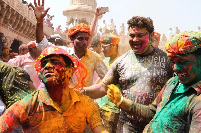 People Together The festival of colors - Holi making people come together and just have the fun and joy The Street Photographer - 2017 EyeEm Awards Modern Hospitality Love Is Love