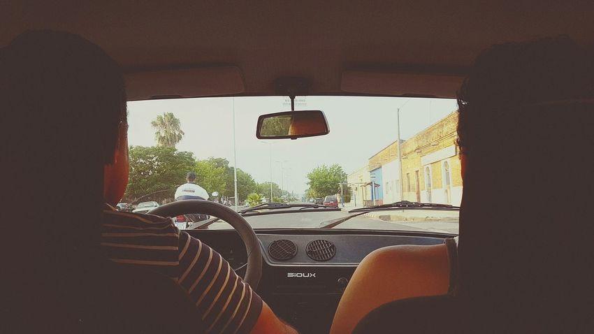 Un viaje largo. Celugrafia Samsungphotography Ride Camino Urban In The Car Day Indoors  No People