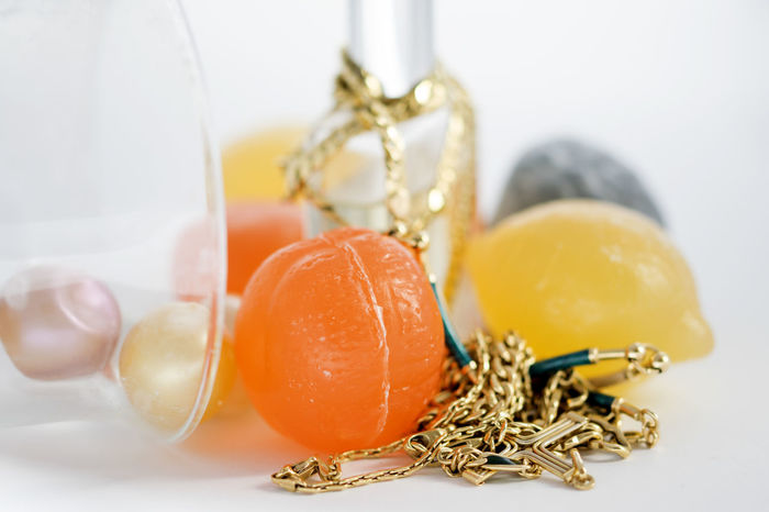 gold jewels and colored bar soap Appeal Bar Beauty Charm Fashion Gold Jewellery Jewels Soap