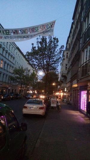 Berlin wrangelkiez nacht