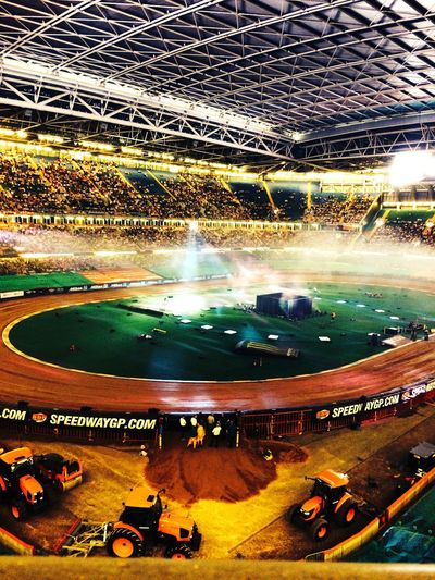 Watched the speedway last week had a fantastic time Speedway Cardiff 2015