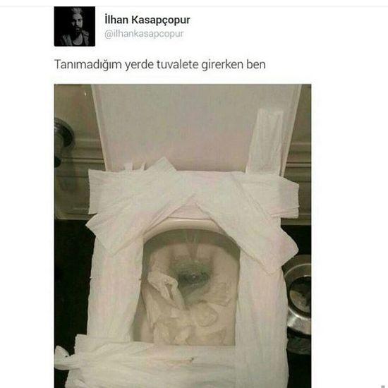 TürkiyeCumhuriyeti Türkiye 💙💛 Türkiye Tanımadığım Tuvalet Wc Titizlik Böylee Birsey
