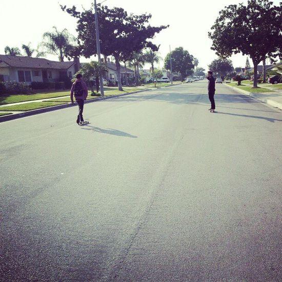 Crusing Skate ENJOI @enjoi_rabbit @biigjay0017