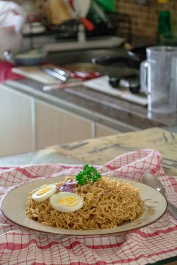 Fried Noodles Indonesian Food Noodles Instant Noodles Ramen Noodles Tagliatelle Spaghetti Chopsticks Ground Beef Noodle Soup Pasta Penne Meatball Soup Soup Bowl Basil Onion Ring Prepared Ravioli Pesto Sauce Parmesan Cheese Macaroni Boiled Egg Collage Tomato Sauce