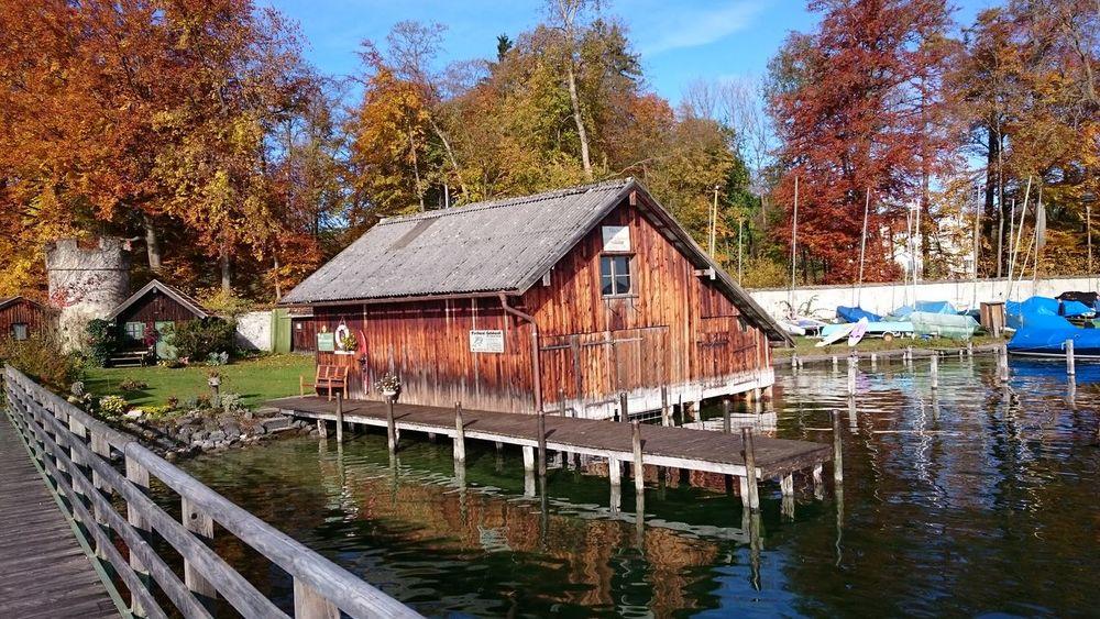 Possenhofen Zissi Bulding Boats⛵️ Starnberger See Lake Bootshaus Water Bayern
