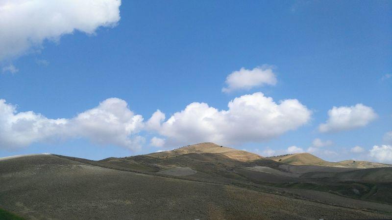 Cloud - Sky Landscape Sky Outdoors No People Day Travelphotography Travel Travel Destinations Sicily Idyllic Mountain