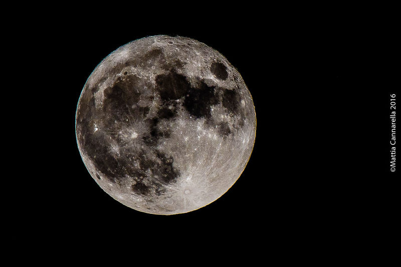 Night Moon Astronomy Nature Moon Surface Tranquility Beauty In Nature Space Outdoors Nikon Nikonphotography Nikond7200 Tamron Tamron Lens Tamron70300mmVcUsd Luna Nofilter Mattiacannarellaphotography
