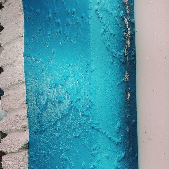 Blue White Dairy Shop Concrete Dannevirke NZ Newzealand Texture Aotearoa Randomtrip Ptk_minimal Pocket_colors 9vaga_colorblue9 Tvc_r2d2