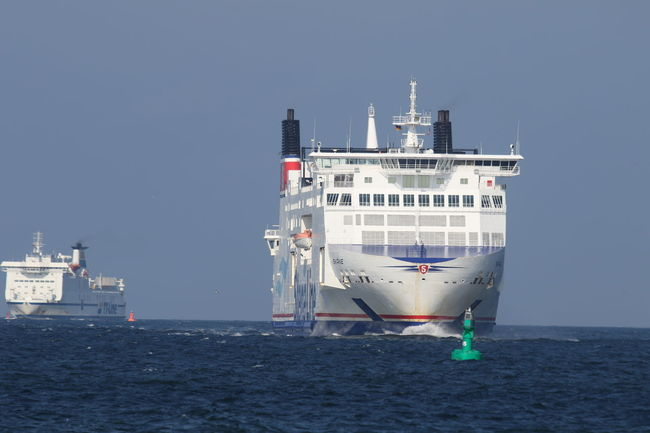 Baltic Sea Clear Sky Day Ferry Boats Mode Of Transport Nautical Vessel No People Outdoors Sea Transportation Water