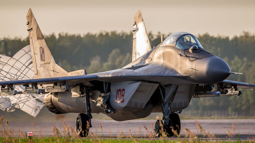 Air Force Airbase Airspace Aviation Fighter Fulcrum MiG29 Military Photography Poland Protecting Sky Tactical