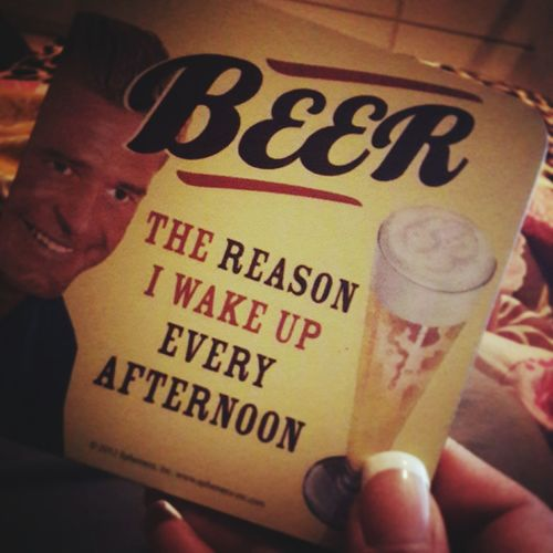 For all beer lovers out there ^_^ I wish I have that moment when I can stay in bed til noon ...lol Taking Photos That's Me Funny I ❤ Beer Beer Lovers