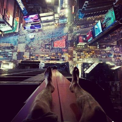 Ohh me...? I m just hanging out in Time Square ;)