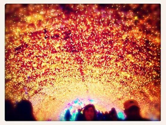 Irumination Autumn In Gotemba