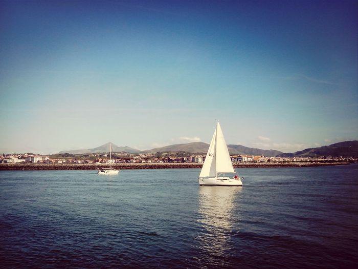 Hodarribi First Eyeem Photo Sea And Sky Boats