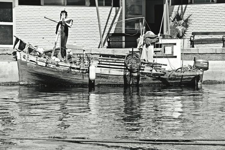 Water Punta Del Este Uruguaynatural Uruguay♥♥ Uruguay Port Day Nature Boat Blackandwhite Black And White Photography