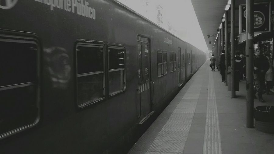 Sometimes, b&w are my best place B&w Live Train Winter Asuchoflifeplease That's Me Station Machinenature